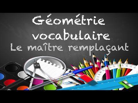 géométrie - point, droite, segment, demi droite, etc. - YouTube