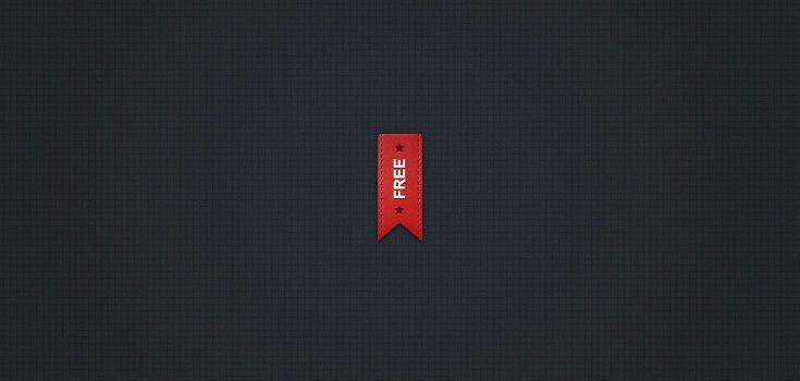 Pretty Little Red Ribbon (psd)