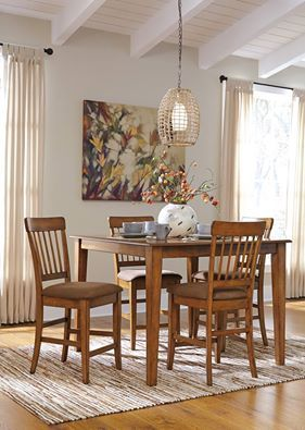 Todays Highlight Berringer Dining Room This Counter Height Set Adds A Flair Of