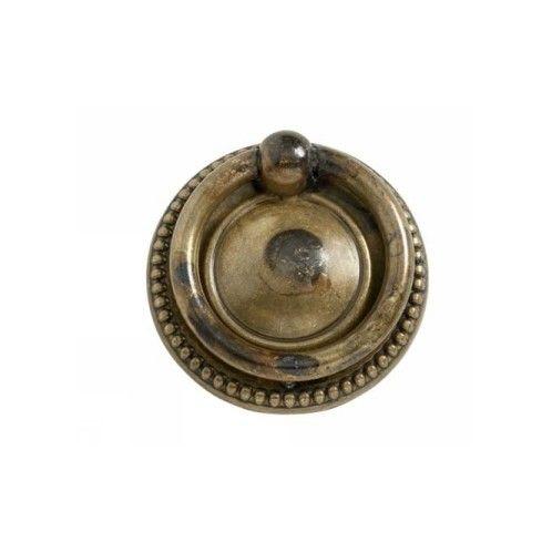 Ring 106-40 - Antik Mässing - Beslag Design  #ring #möbelbeslag #Allabeslag #BeslagDesign #inredning #mässing #antik #mässing