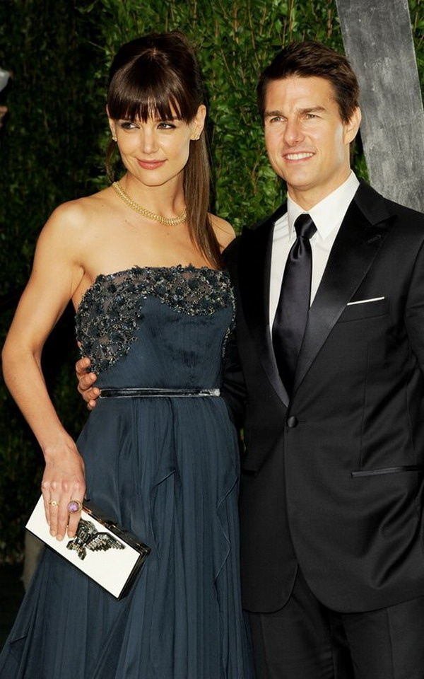Katie Holmes and Tom Cruise @ Oscar Party