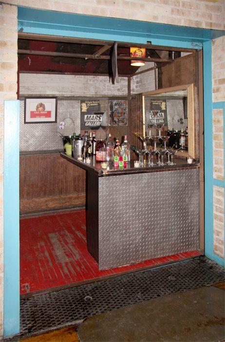 elevator bar at mars gallery