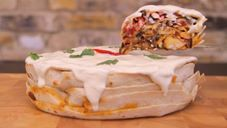 Viral Thread Food- fajita cake