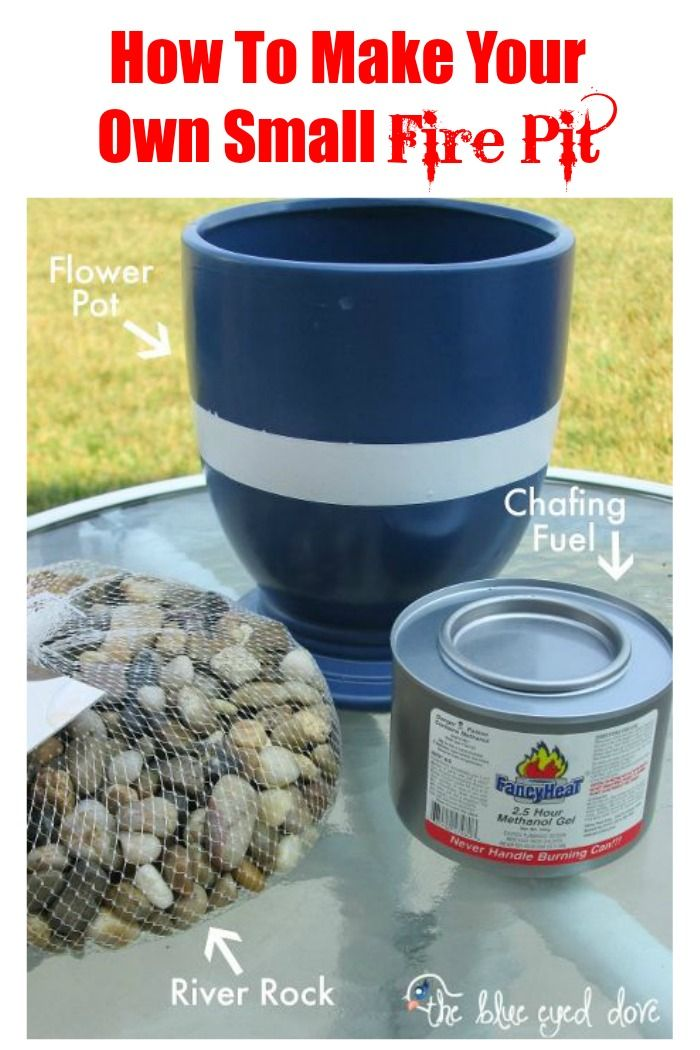 how to make your own small fire pit fire pits small