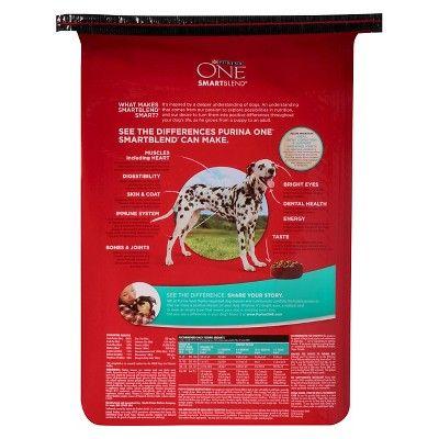 Purina One SmartBlend Large Breed Puppy Formula Puppy Premium Dry Dog Food - 16.5lb bag, Burmese Beige