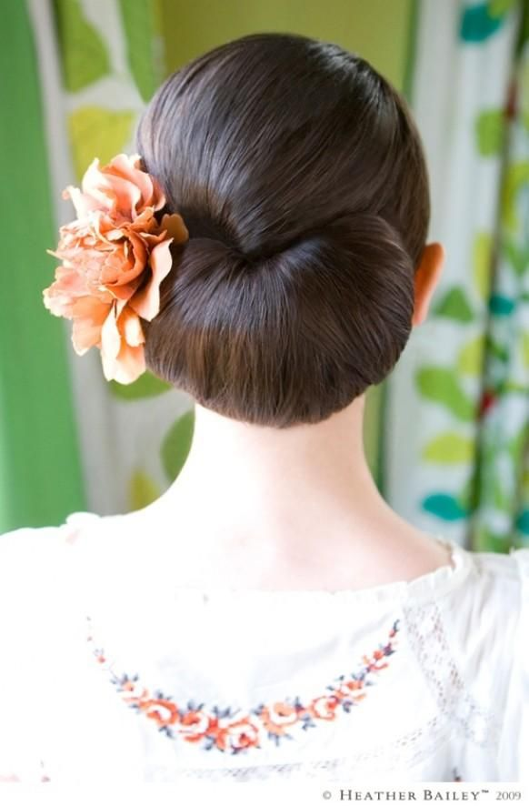 Wedding Hairstyles ~ Smooth up~do