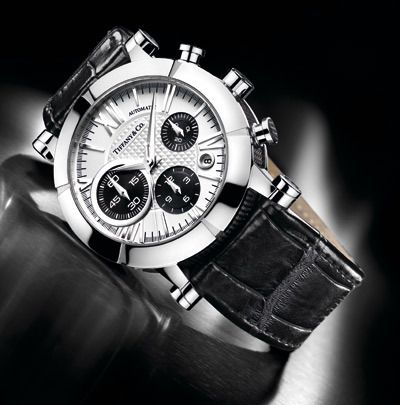 Tiffany coatlas chronograph watch