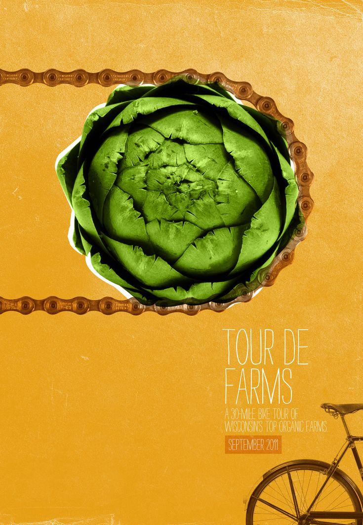 Braise Local Food: Tour de Farms, Artichoke chain