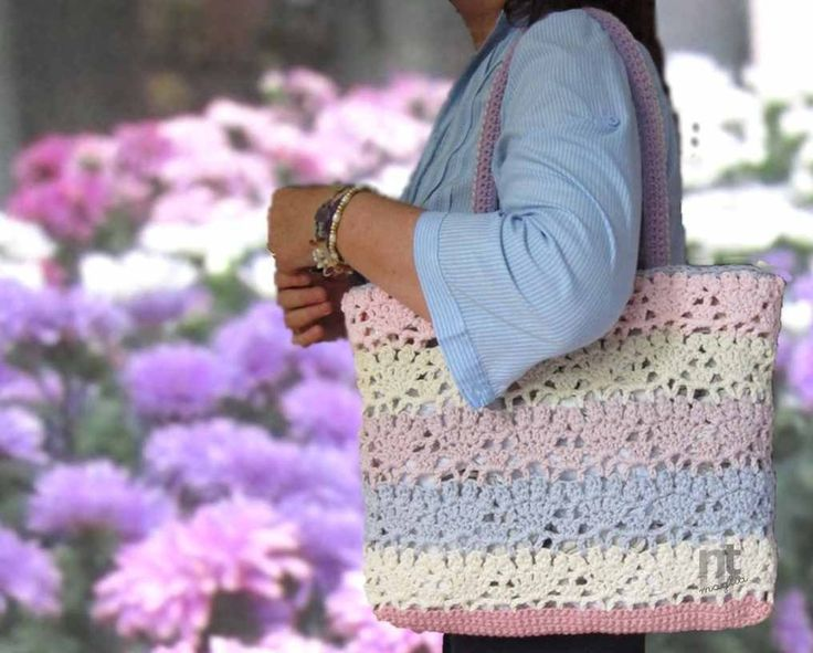 "Crochet Bag Pattern ""Sportina Carlotta"" by NTmaglia"