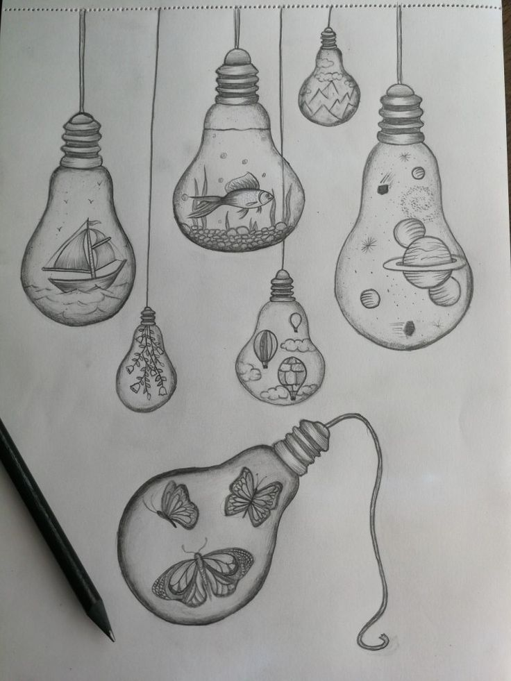 Lightbulb Drawings #bulbs – #bulb #bulbs #drawings #light #tekenen   – Zeichenideen