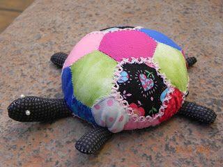 Mi pequeña tortuga de Patchwork