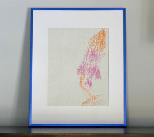 Frame your little one's wall art - the perfect accent to a gallery wall.