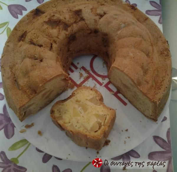 Κέικ μήλου #sintagespareas