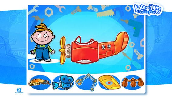 FREE app Aug 29th (reg 2.99) Build a Plane with Kate and Harry