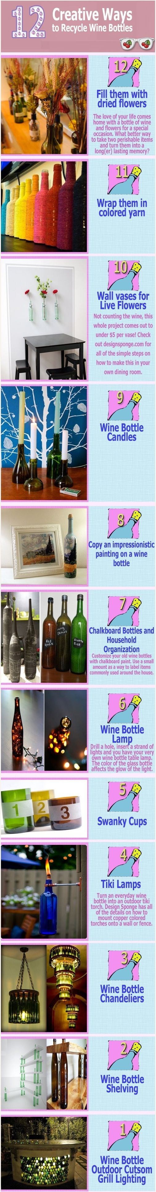 Recycle wine bottles wine cork barrels bottles for Recycling wine bottles creatively