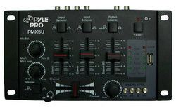 Professional 2-Stereo Channel DJ Mixer W/ USB Player