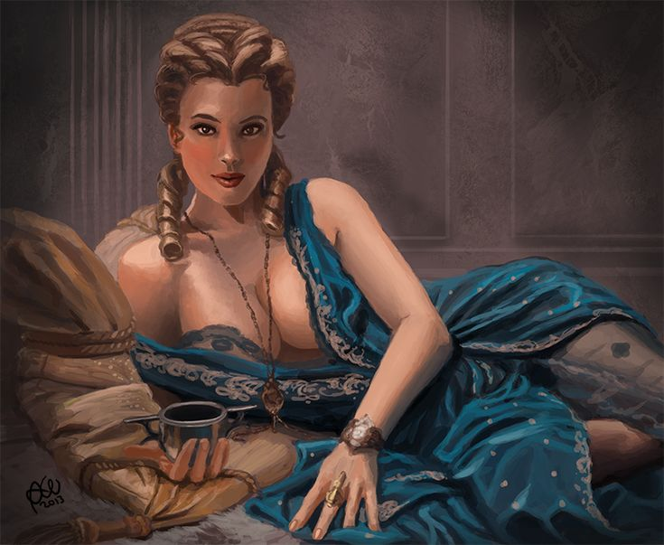 Roman Woman Study By Tricketitrickdeviantartcom On -5511