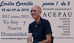 Clarla en Lleida-Septiembre 2012-Emilio Carrillo 1 de 2 - yo soy y nueva humanidad.