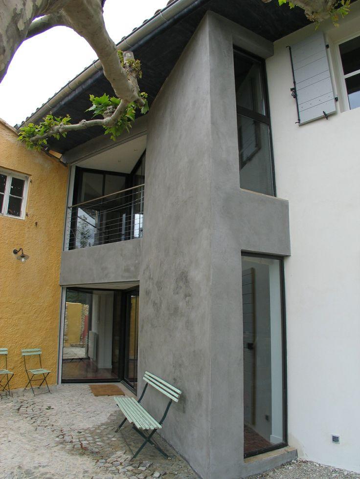 9 best Béton Ciré, Taloché et Coulé images on Pinterest Concrete - maison en beton coule