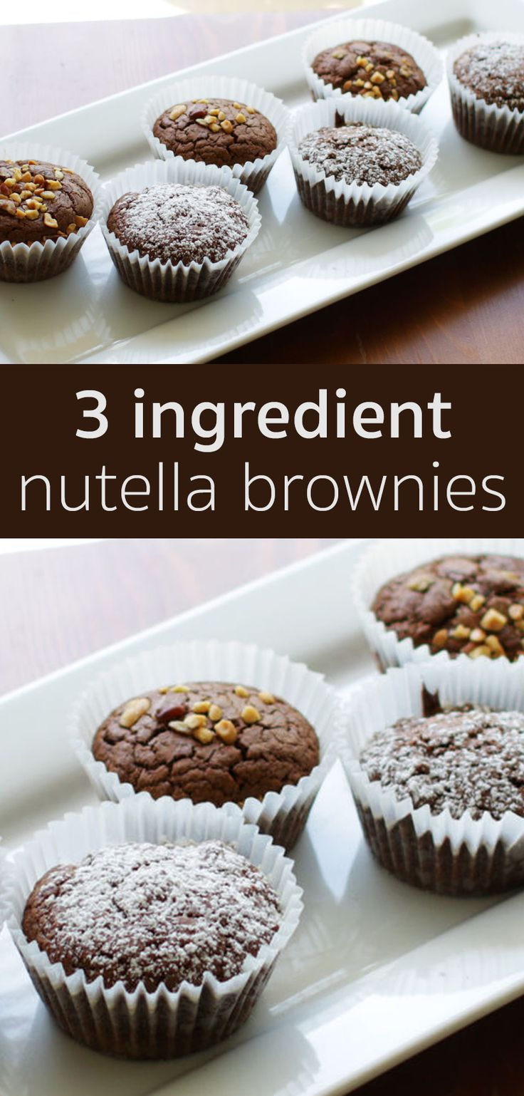 This Nutella Brownie recipe is really easy to make. Impress your friends and family with this delicious treat!