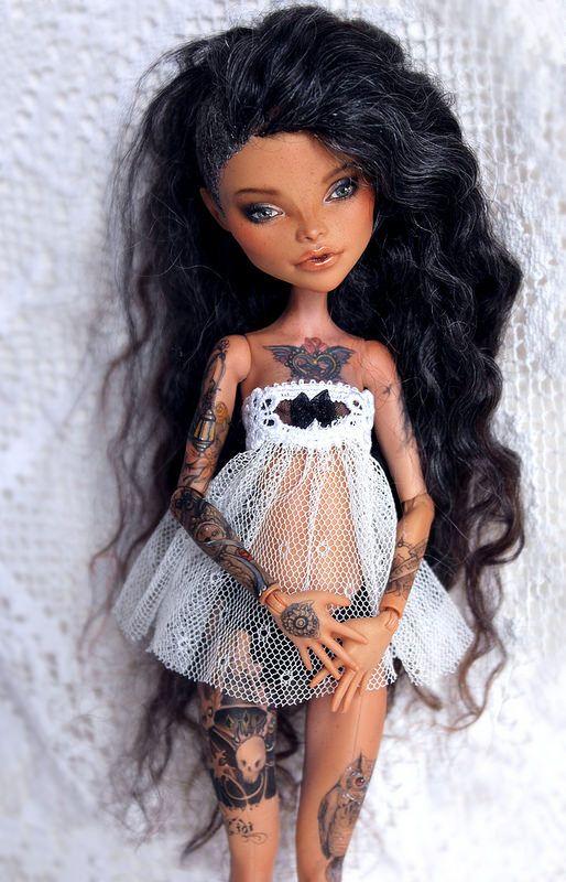 Really Cool Custom Monster High Doll