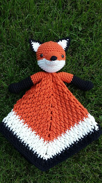 Ravelry: firecrystals Fox Lovey USD4.50 Crochet Patterns ...