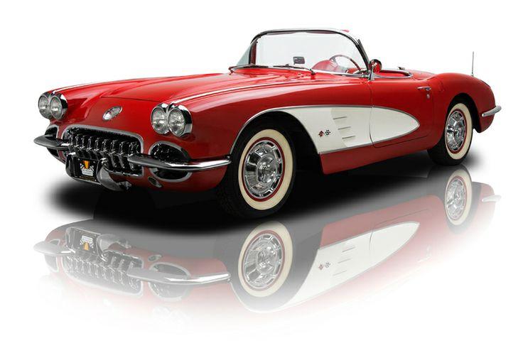 1960 Chevrolet Corvette Roadster 283 V8 4 Speed