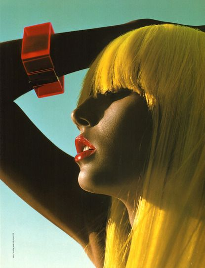 Yellow hair x x
