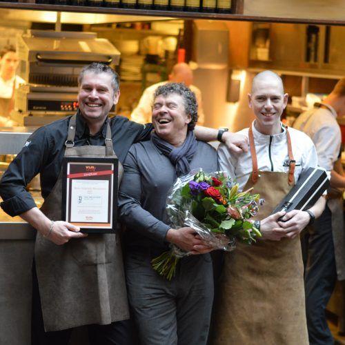 Team van Van Der Dussen in Delft -- Beste WijnSpijs Restaurant Van Nederland 2017