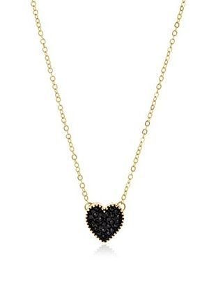 55% OFF Jules Smith Black Heart Necklace