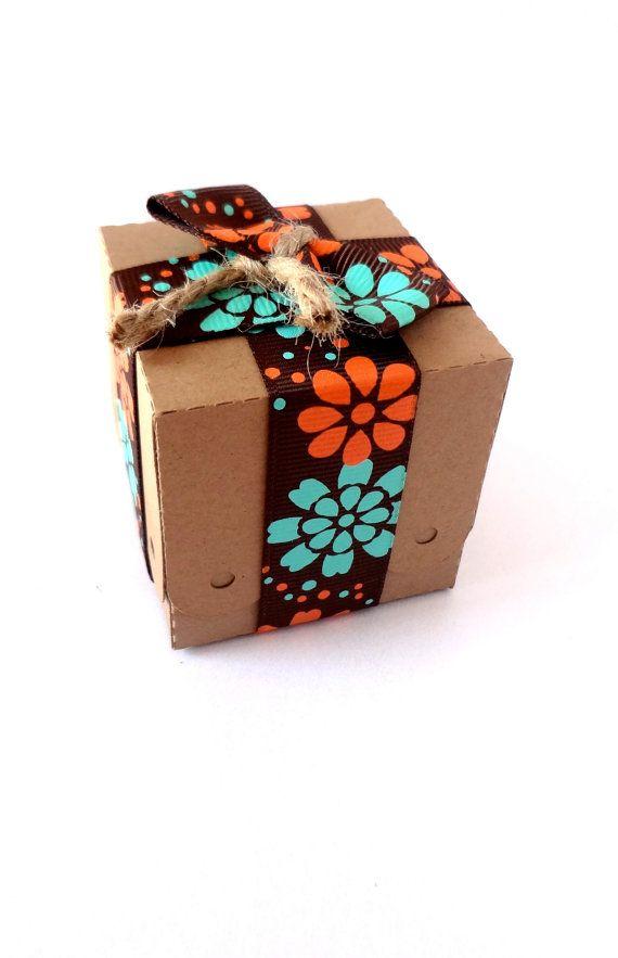 100 Mini Kraft Favor Boxes / Wedding Favour by ThePaperBazaar, $65.87