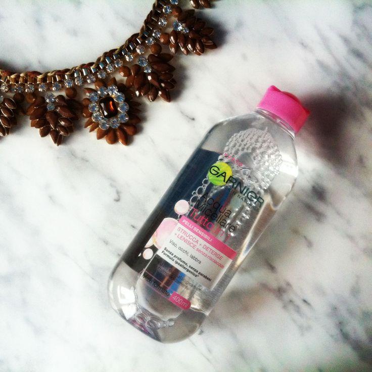 garnier acqua micellare #micellar #micellare #beauty #makeupremover: