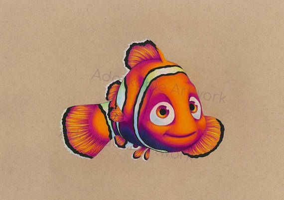 ORIGINAL Nemo Drawing