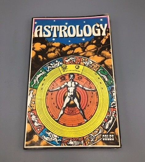 Vtg 70s Astrology Book by R David Coles Publishing Ltd