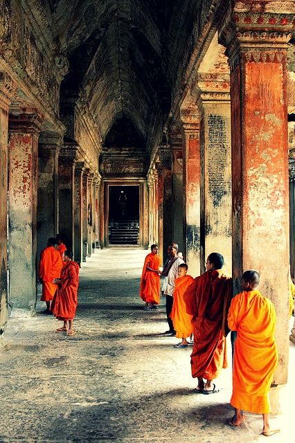 Would go back and do this 100 times again. Angkor Wat ... Angkor, Cambodia..♥♥..Love!