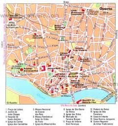 porto carte touristique de la ville - Ecosia