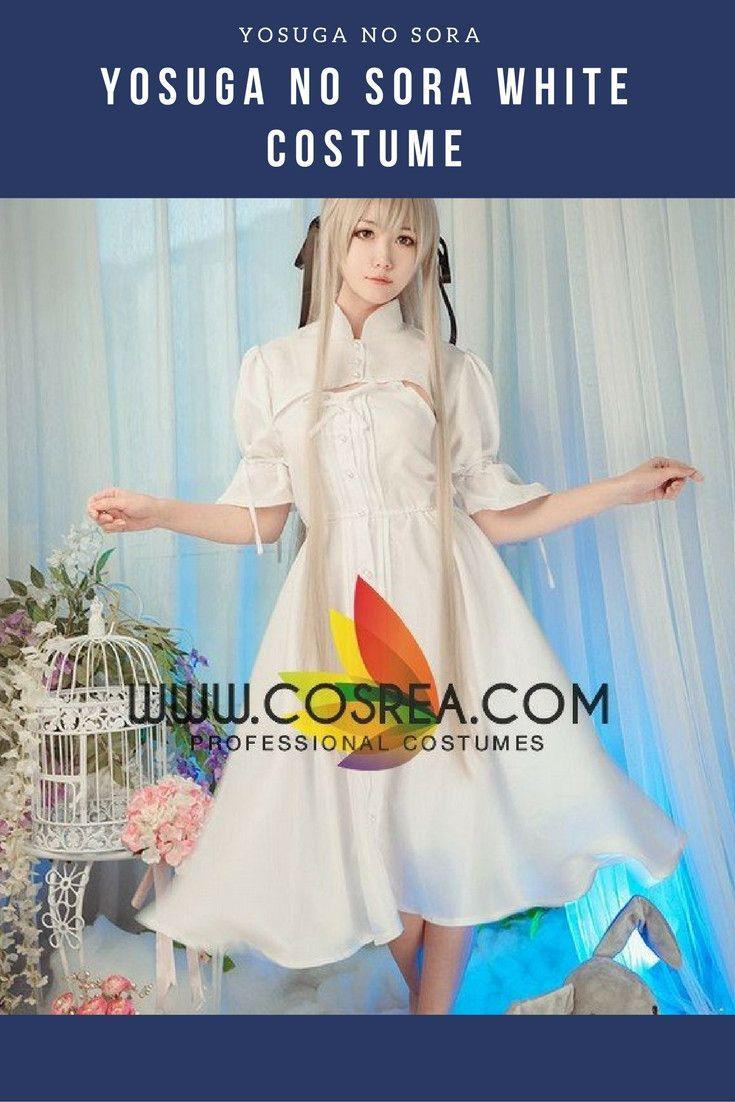Yosuga no Sora White Cosplay Costume