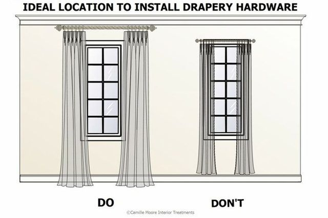 curtains vs. drapes, plus tips on how to hang and different types of pleats