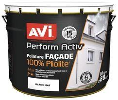 Peinture de Façade // Peinture 100% Pliolite10L - AVI  Pouvoir couvrant : **** Résistance à l'eau : ******