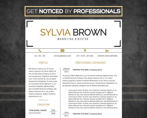 34 best Resume Templates images on Pinterest Resume templates - resume templates word mac