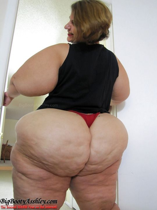 Isn't very BIG BUTT SSBBW