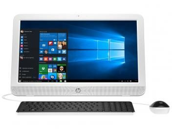"Computador All in One HP 20-e001br Intel Dual Core - 2GB 500GB LED 19,45"" Windows 10"