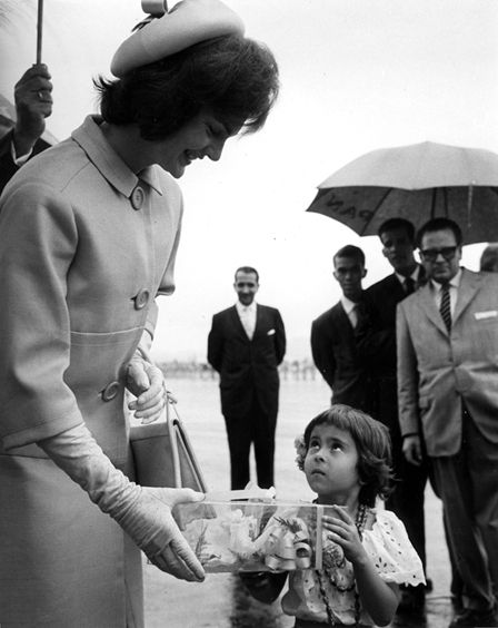 Jackie Kennedy was more moved by her interactions with South Americans than with the French.