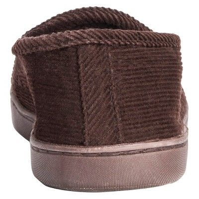 Men's Muk Luks Henry Loafer Slippers - Chocolate (Brown) M(10-11), Size: M (10-11)