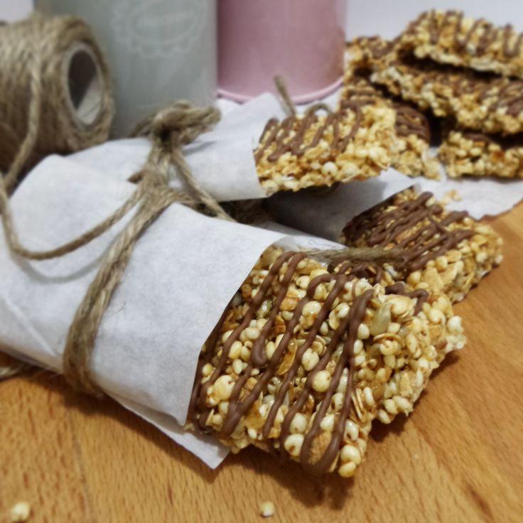 Barrette di cereali con cioccolato al latte – In cucina con Giada e Sara