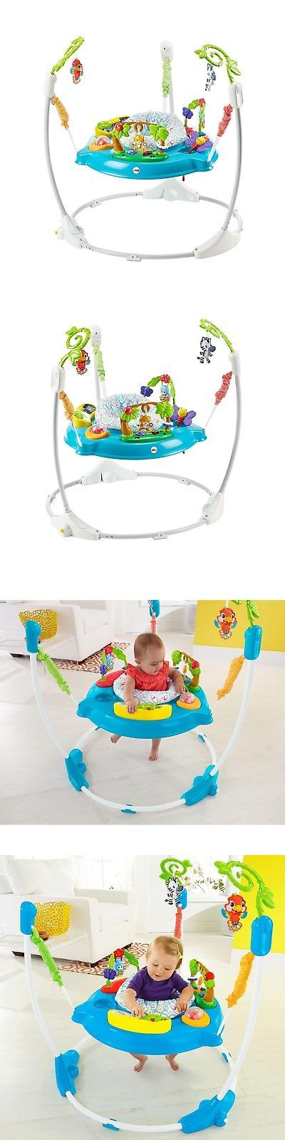 Baby Jumping Exercisers 117032: Fisher Price Shakira Musical Friends Jumperoo Baby Activity Bouncer Seat Jumper -> BUY IT NOW ONLY: $92.99 on eBay!