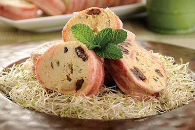 Este albondigón de pollo es una preparación que se puede acompañar de ensalada o arroz para una comida completa.