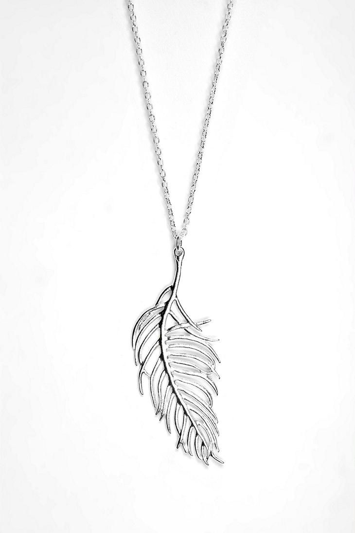 feather jewelry.