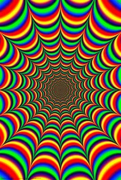 3d Rainbow Psychedeli Wallpaper Moving Fractal Images Google Search Illusions