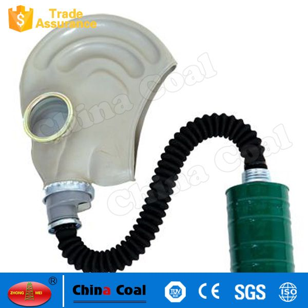 Portable Long Tube Natural Rubber Full Face Anti Gas Mask